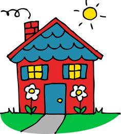 Bungalow clipart little house Clipart Free No Images Clipart