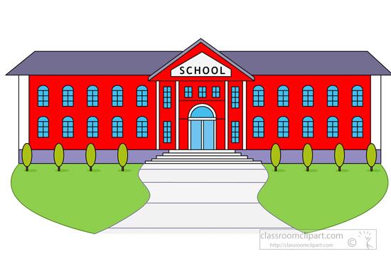 Larger clipart school building Illustrations pictures graphics Clipart clip