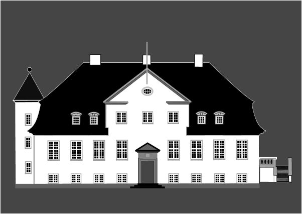 Mansion clipart manor house Fine Collection Art on