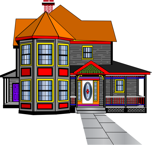 Hosue clipart big house Free Download clipart Mansion images