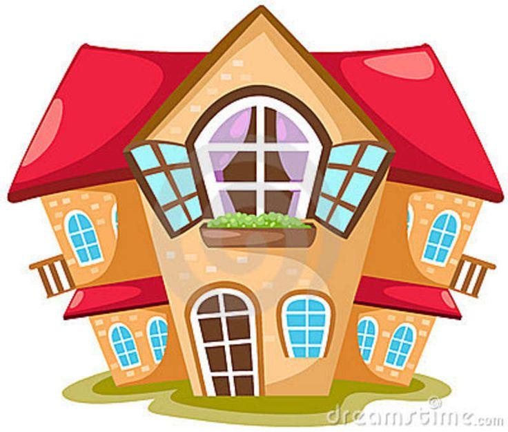 Drawn house 2d cartoon About Best images Art 17