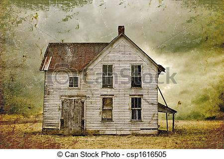 Shack clipart abandoned house Creepy Clip Clipart – Mansion