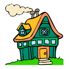 Places clipart new home #1
