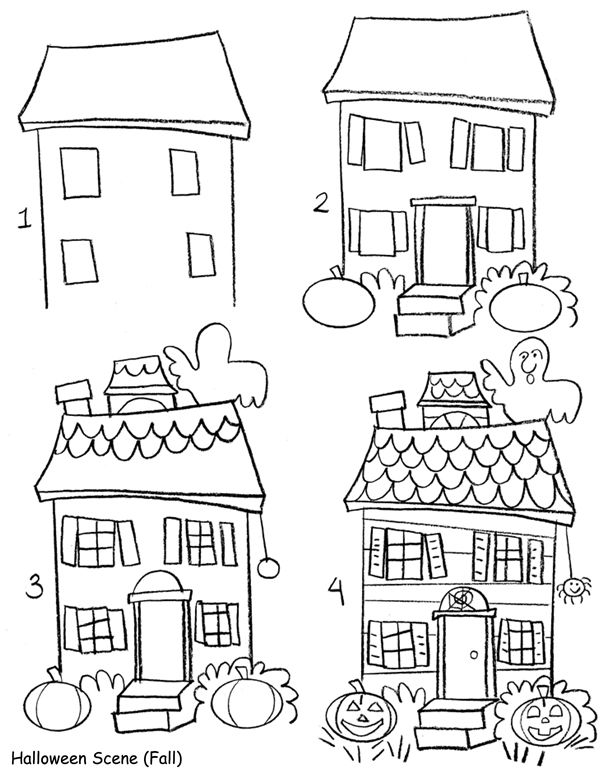 Drawn bulding  doodle On Best house 25+ House