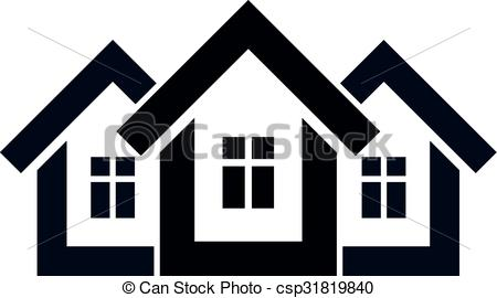 Mansion clipart simple house front Estate idea country of country
