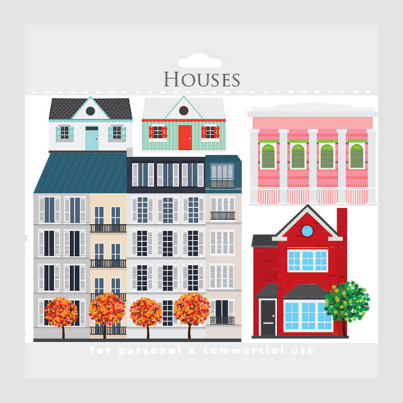 Apartment Complex clipart townhouse #2