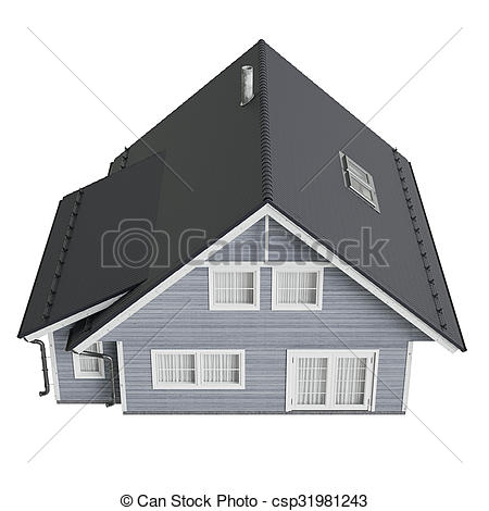 Mansion clipart villa House top Illustration of roof
