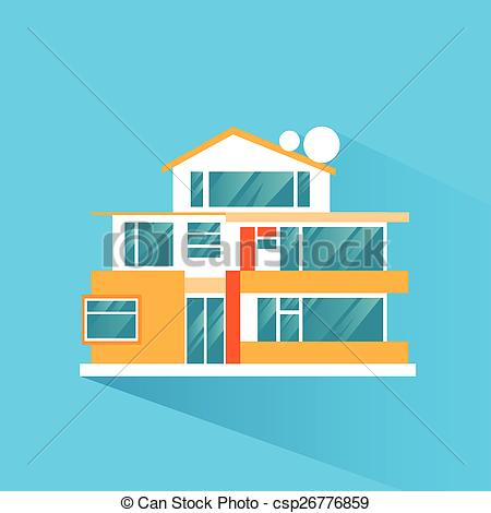 Mansion clipart villa House of big vector Clipart