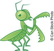 Mantis clipart #4