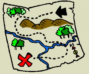 Map clipart Clipartix treasure clipart art clipart