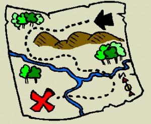 Map clipart Clipartix treasure clipart art clipart