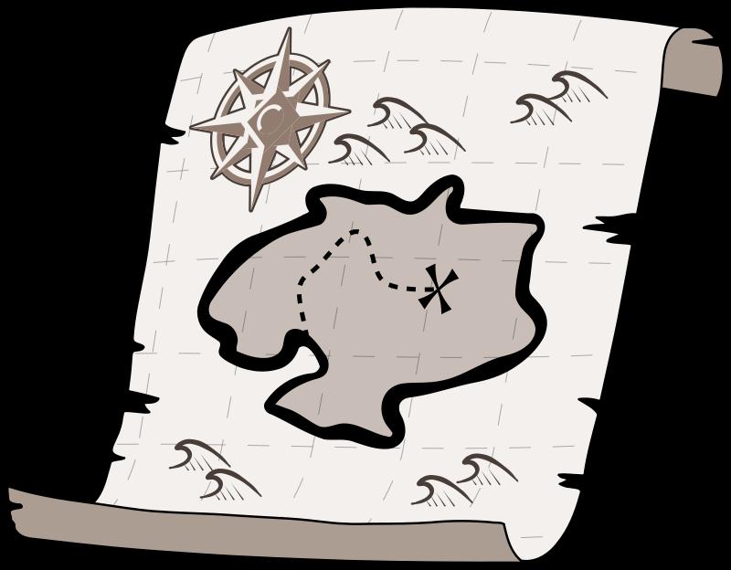 Pirate clipart pirate map Clipartix art clip free art