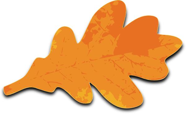 Leaves clipart orange leaf Com Leaf Leaf public at