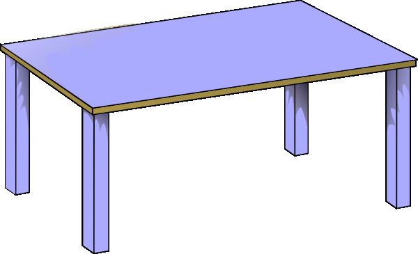 Desk clipart transparent Table Clipart Cartoon Table Cartoon