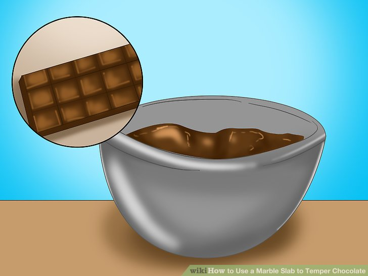 Marbles clipart bowl How Steps Temper Chocolate Step