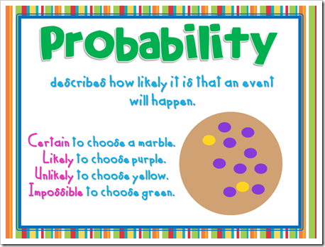 Marbles clipart chance Probability Elementary Skittles 3 18