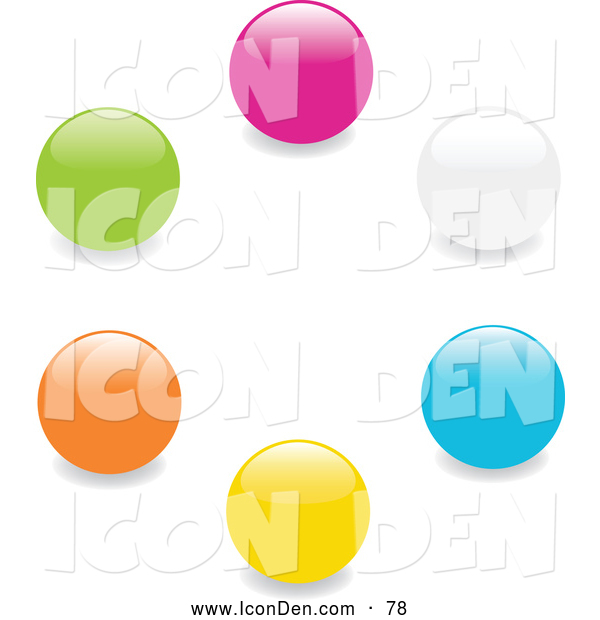 Marbles clipart green And Art Collection a Orange
