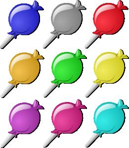 Marbles clipart green Clip Lollipops Lollipops  Art