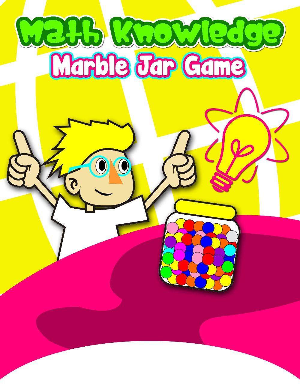 Marble clipart math game Jar MathFileFolderGames com Value Knowledge
