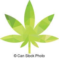 Cannabis clipart Art weed vector EPS 12