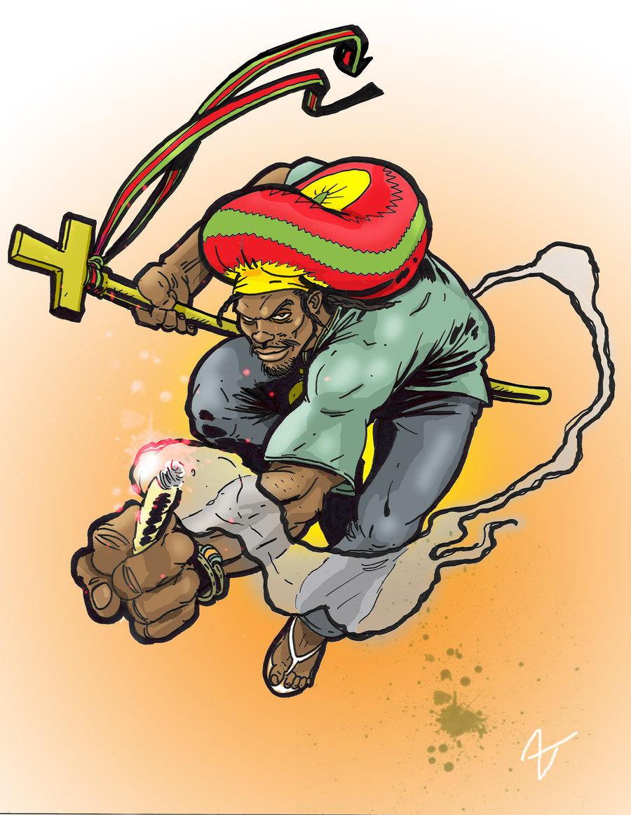 Rasta clipart animated Hero Rasta