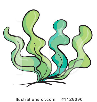 Seaweed clipart cartoon #6