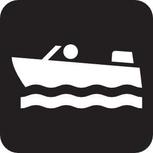 Marina clipart rural development Black Clip Clip Motorboating Boating