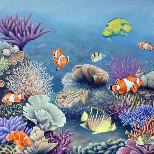 Seascape clipart underwater #3