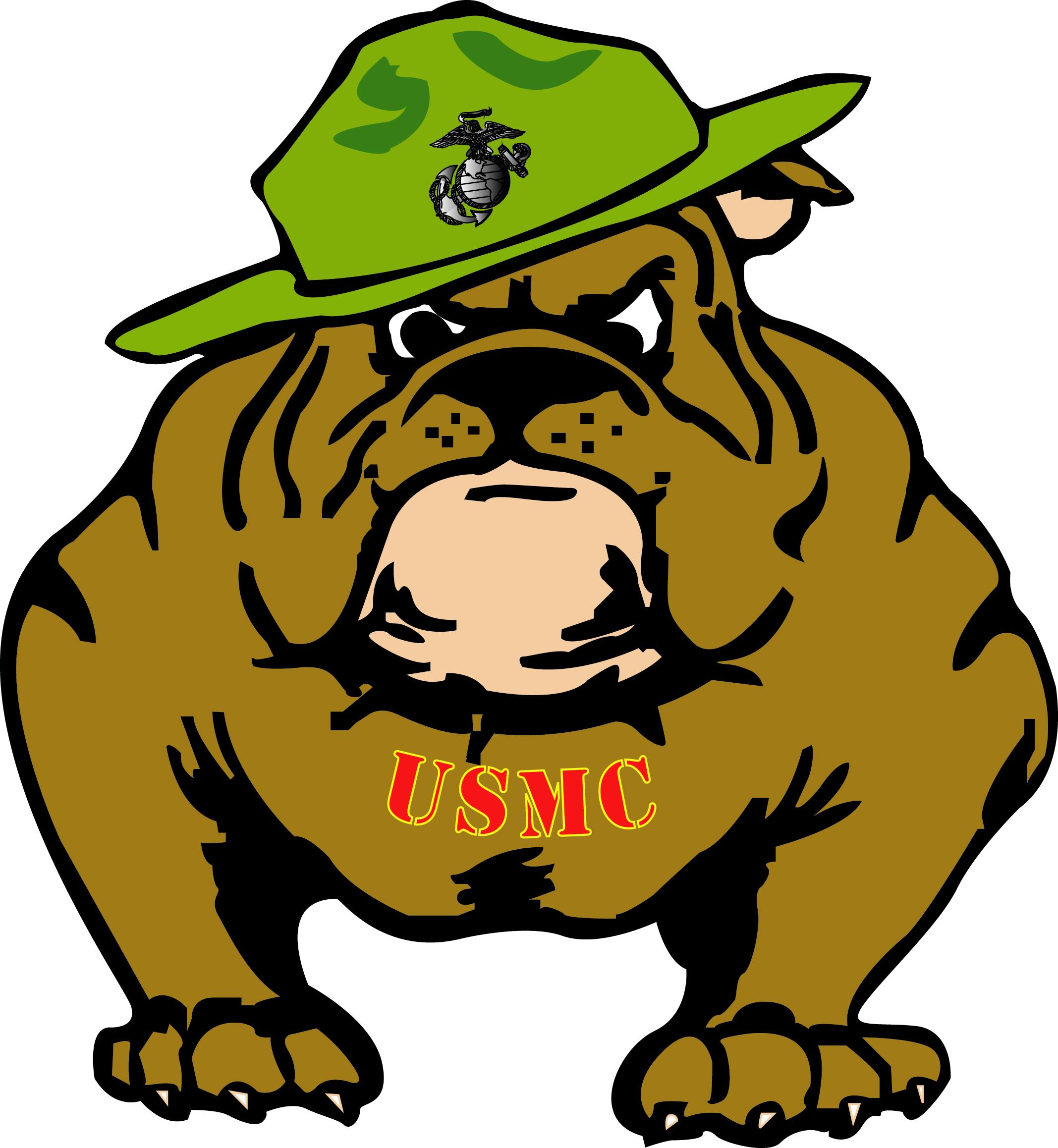 Marine clipart Marine bulldog bulldog Marine clipart