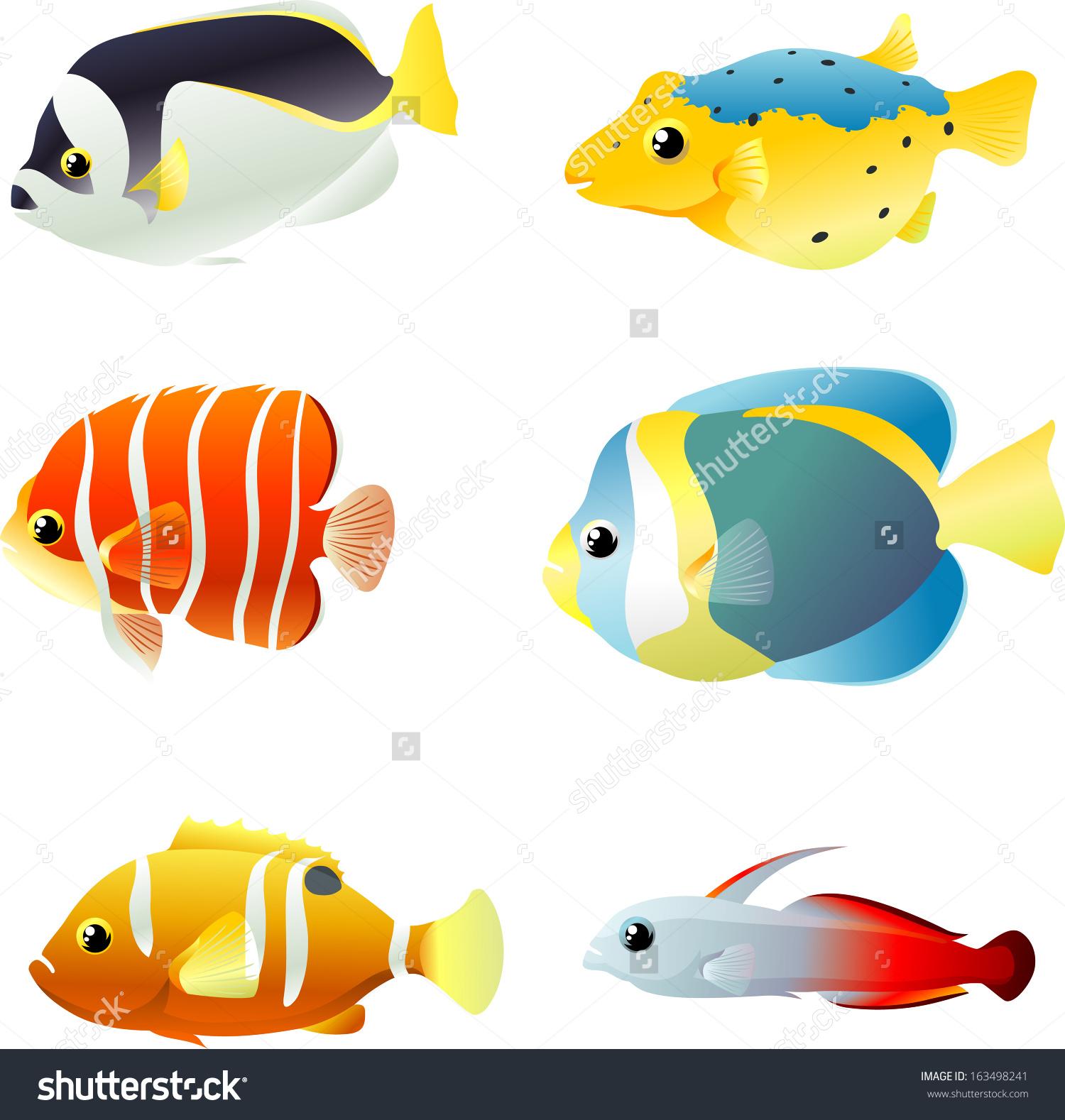 Marine Fish clipart Fish clipart #14 Download Marine