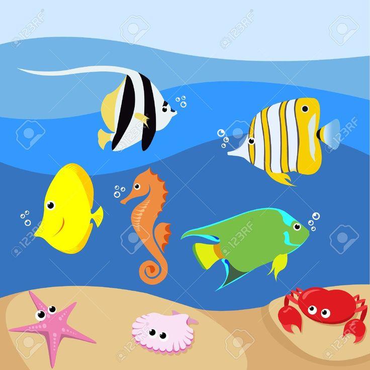 The Sea clipart aquarium animal Aquarium with marine life best