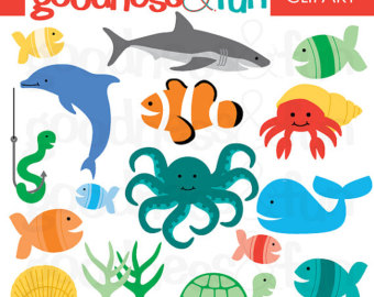 The Sea clipart sea animal Ocean Animal 1 FREE Buy