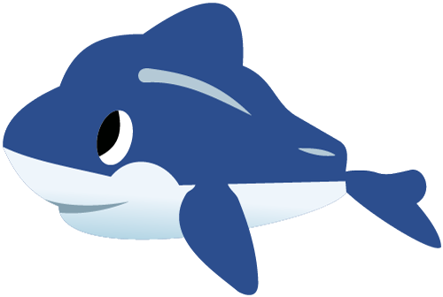 Marine Life clipart baby dolphin Clipart Free Graphics Whale Dolphin