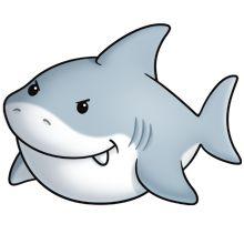 Marine Life clipart baby shark AnimalsCute on AnimalsBaby images ·