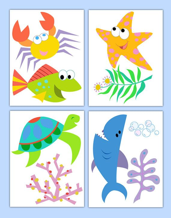 Marine Life clipart baby shark Wall clipart on about 677