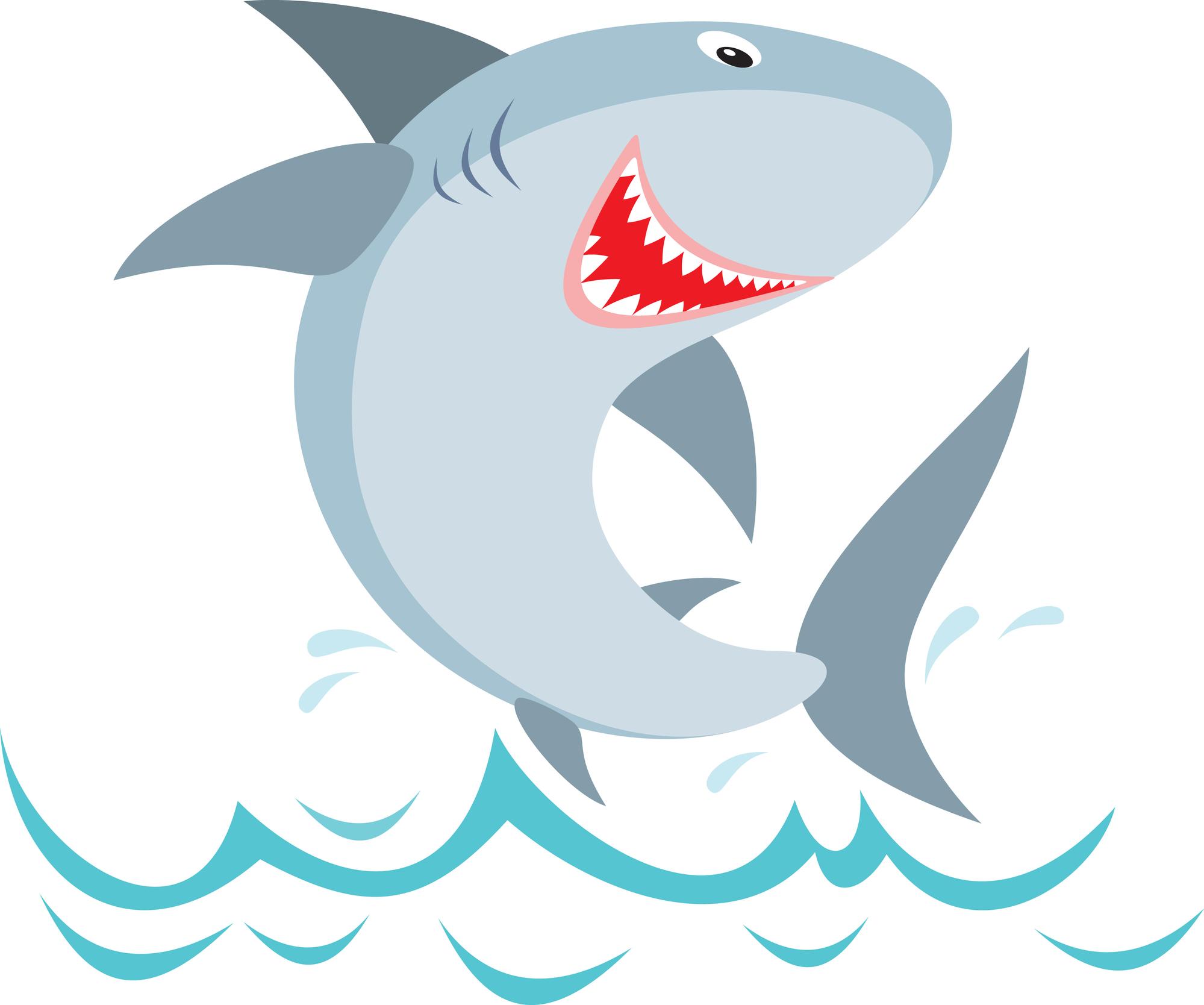 Marine Life clipart baby shark Shark shark Gallery Noahs birthday