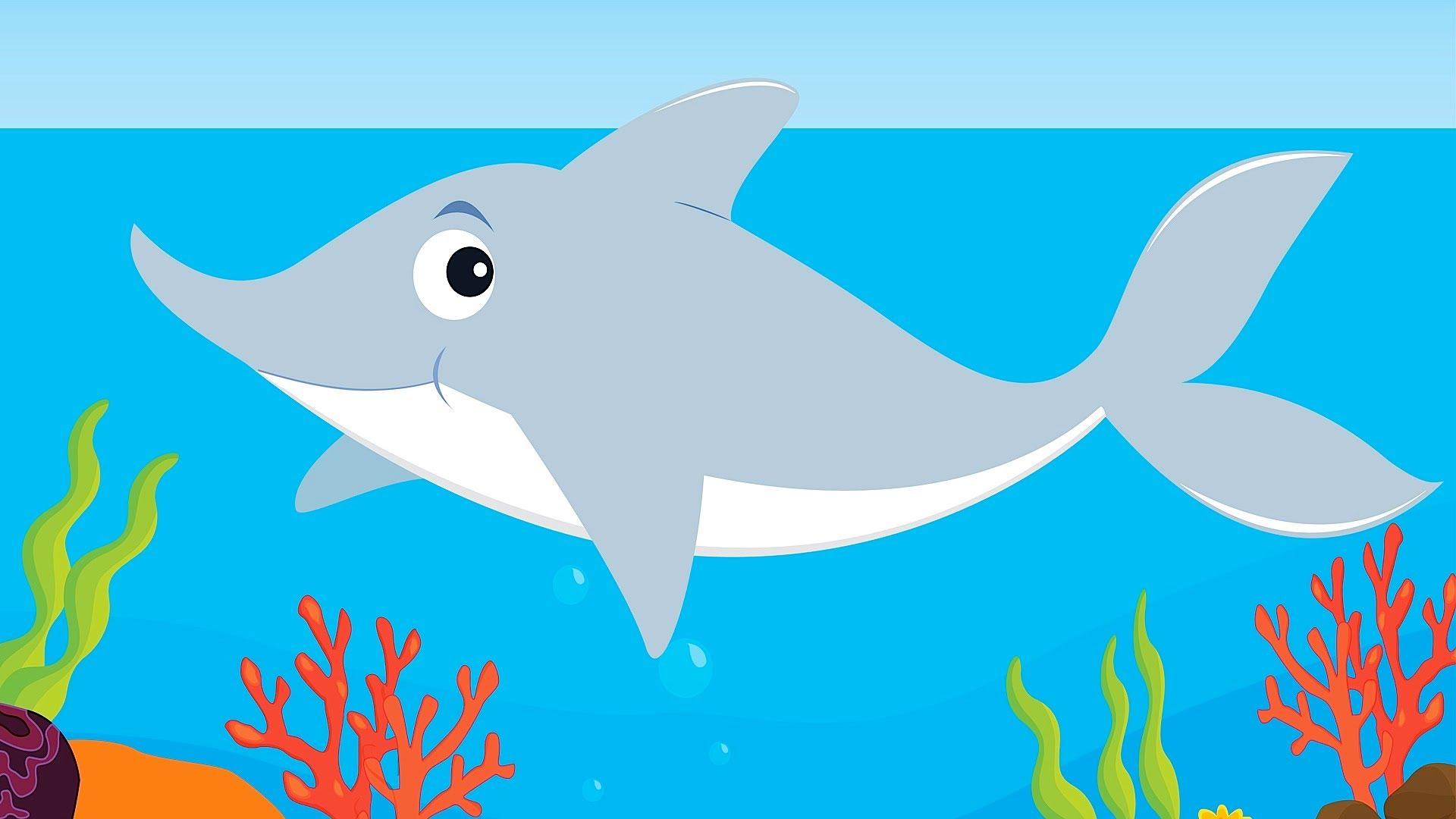 Marine Life clipart baby shark YouTube Songs Shark  Kids'