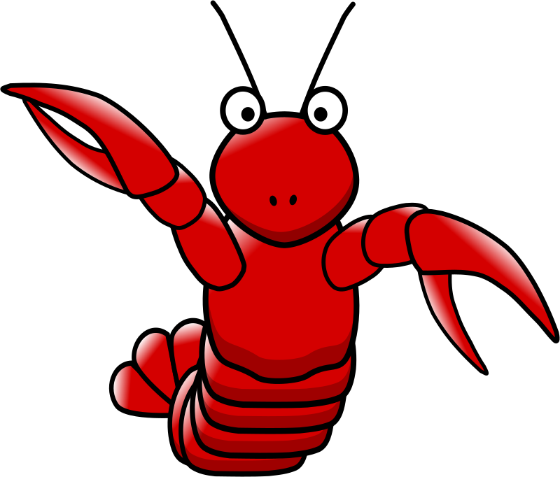 Seafood clipart sea animal Lobster Public Free Art to
