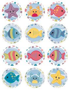 Marine Life clipart cartoon Freebies Marine Free Vector Design