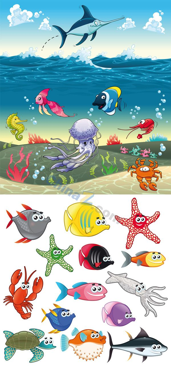 Figurine clipart graphic Drawings of best marine material