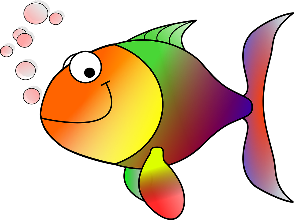 Drawn gold fish transparent background Background clipart Fish no collection