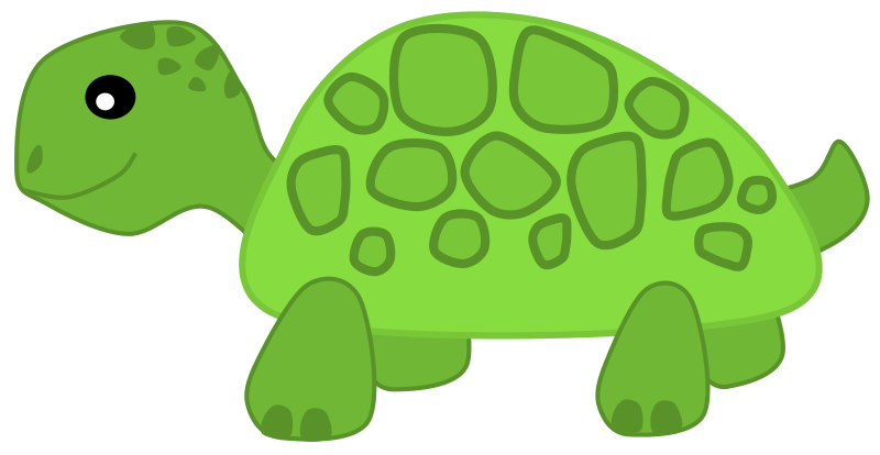 Pet clipart green turtle Art Public Use Free Domain