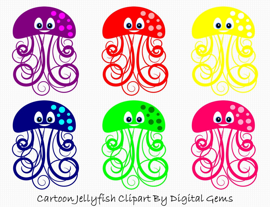 Marine Life clipart jellyfish  Clipart Files Jelly Cute