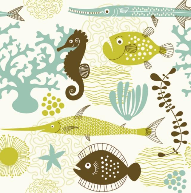 Marine Life clipart sea plant Find life Quilting about this