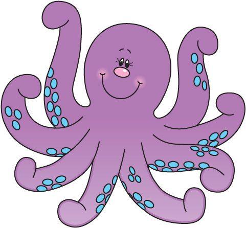 Animl clipart octopus #7