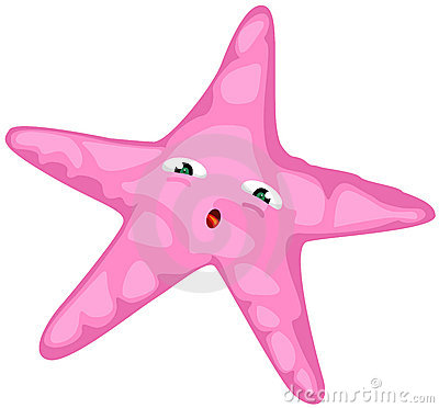 Scary clipart starfish #4