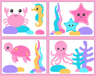 Sea Life clipart baby octopus #10