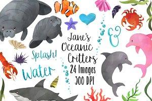 Marine Life clipart sea creature Graphics Clipart Templates Sea Ocean