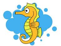 Sea Life clipart seahorse #15