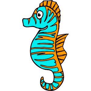 Sea Life clipart seahorse #2